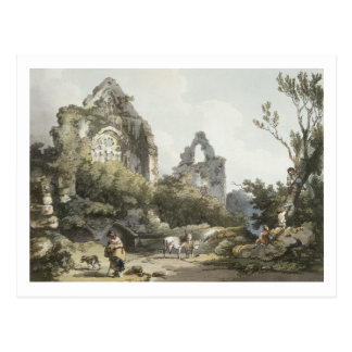 Tintern Abbey, from 'The Romantic and Picturesque Postcard