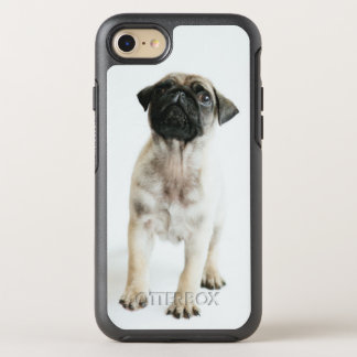 Tiny And Cute Pug Puppy OtterBox Symmetry iPhone 7 Case