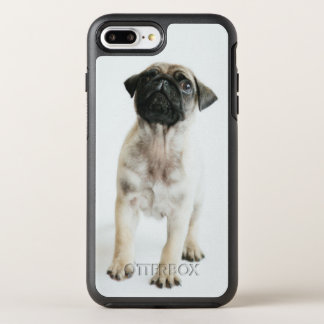 Tiny And Cute Pug Puppy OtterBox Symmetry iPhone 8 Plus/7 Plus Case