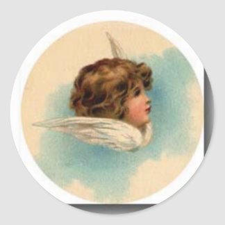 tiny-angels-tn-7 round sticker