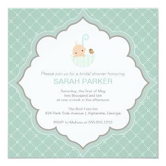 {tiny baby} baby shower invitation