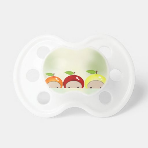 Tiny Baby Chibi Fruit Club Pacifiers