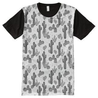 Tiny Cactus Cacti Exotic Tropical / Andrea Lauren All-Over Print T-Shirt