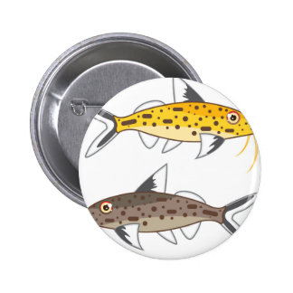Tiny Catfish 6 Cm Round Badge