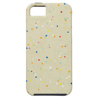 Tiny Dots Rainbow Confetti Sprinkle Print iPhone 5 Covers