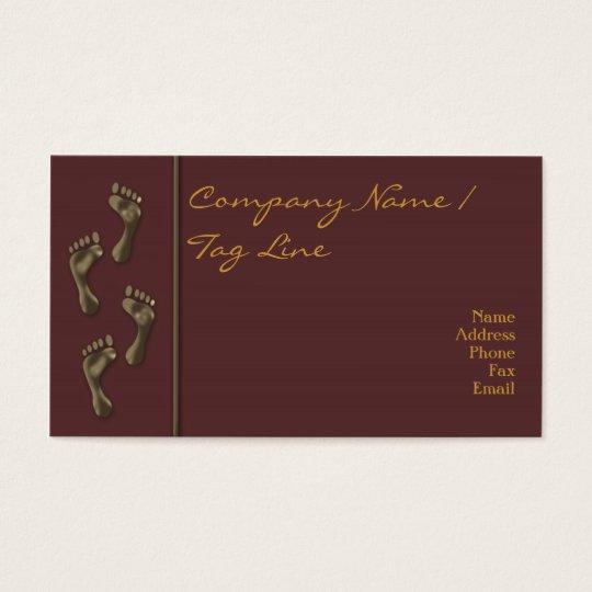 Tiny Feet Business Card