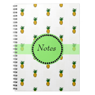 Tiny Golden Pineapples Notebook