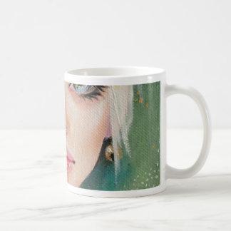 Tiny green fairy mug