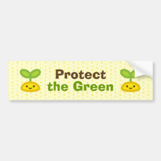 Tiny Green Sprout Bumper Sticker