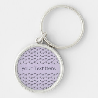 Tiny Hearts custom key chain