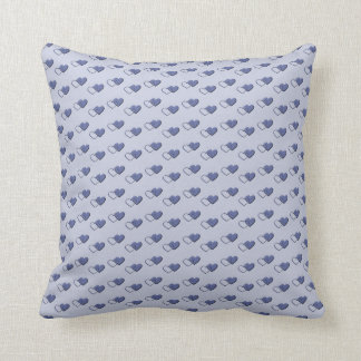Tiny Hearts throw pillow