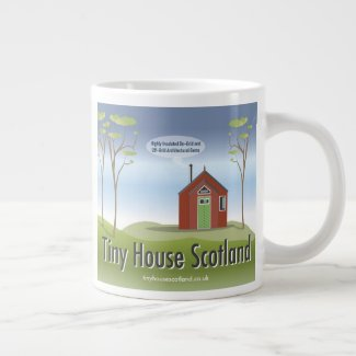 Tiny House Scotland Logo 20 oz Jumbo Mug