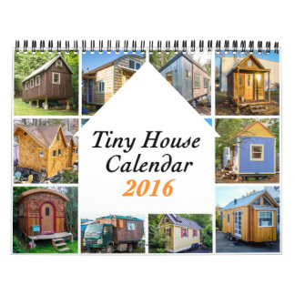 Tiny Houses 2016 ($30) Charity Wall Calendars