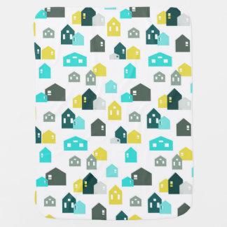 Tiny Houses Baby Blanket