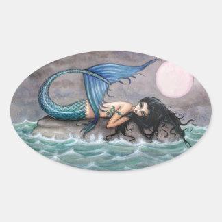 Tiny Island Mermaid Stickers