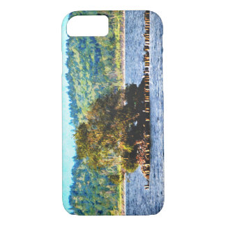 Tiny Island of The Big Lake iPhone 7 Case