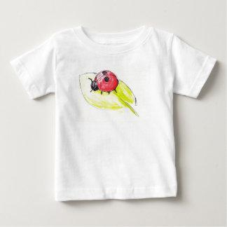 Tiny Ladybird Baby T-Shirt