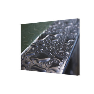Tiny Lakes Stretched Canvas Print
