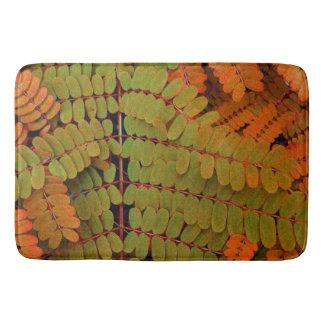 Tiny Leaves Pattern Bath Mats