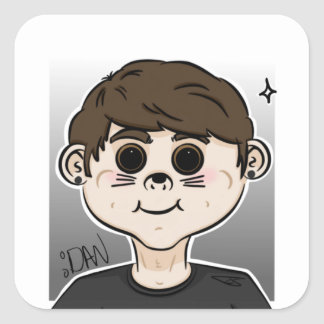 Tiny little Dan Sticker