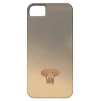 Tiny little elephant in Sahara Barely There iPhone 5 Case