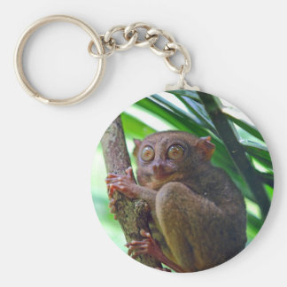Tiny Philippine tarsier Key Ring