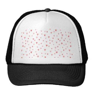 Tiny Pink Hearts Hats