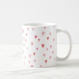 Tiny Pink Hearts Coffee Mugs