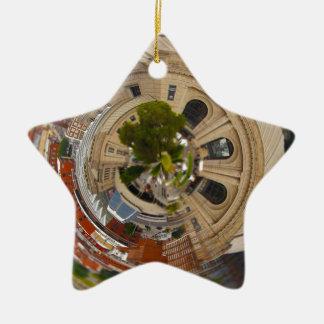 Tiny Planet Union Station Kansas City MO. Christmas Ornament