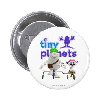 Tiny Planets Easy Rider 6 Cm Round Badge