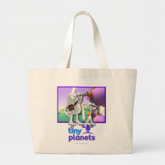 Tiny Planets Flocker Spotter Tote Bags
