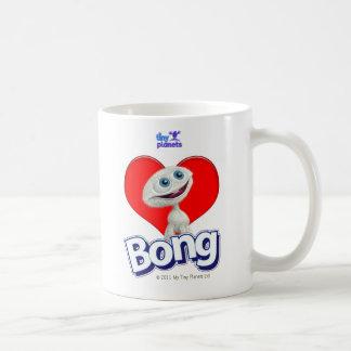 Tiny Planets - I Love Bong Basic White Mug