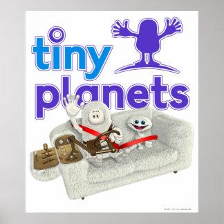 Tiny Planets Sofa Safari Poster