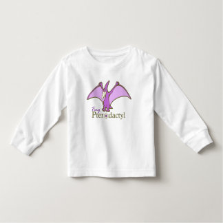 Tiny Pterodactyl, Purple Toddler T-Shirt