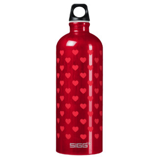 Tiny Red Heart Pattern SIGG Traveller 1.0L Water Bottle