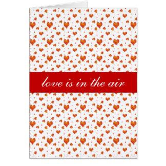 Tiny Red Hearts Card
