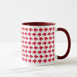 Tiny Red Kiwis Mug