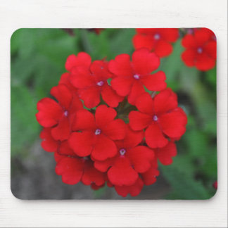 Tiny Red Petals Mouse Pad