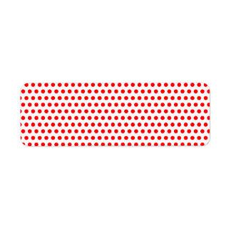 Tiny Red Polka Dots