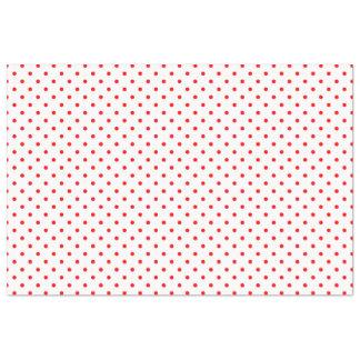 Tiny Red Polka Dots Tissue Paper