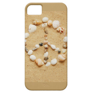 Tiny Seashell Peace Sign iPhone 5 Case
