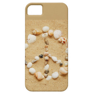Tiny Seashell Peace Sign iPhone 5 Cases