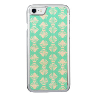 Tiny Seashells Aquamarine iPhone Case
