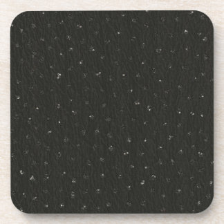 Tiny Sequined Texture Look Drink Coaster