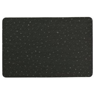 Tiny Sequined Texture Look Floor Mat