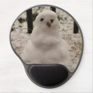 Tiny Snowman Gel Mousepad