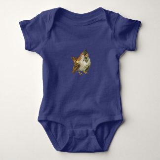 Tiny Sparrow Baby Bodysuit
