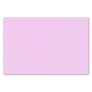 Tiny Stars and Moons on Light Purple Pink Tissue Paper