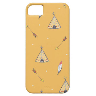 Tiny Teepees iPhone 5 Case