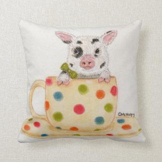 Tiny, The Tea Cup Pig Pillow